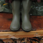 Elizabeth's wellies